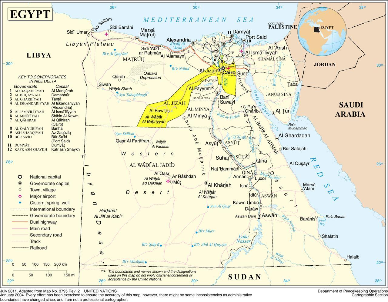 Cartina Egitto In Italiano.Grande Cairo Mappa Mappa Del Grande Cairo Egitto